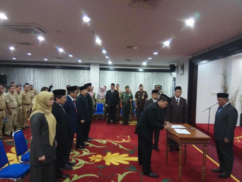 Walikota Depok Mutasi Pejabat Setingkat Kepala Dinas