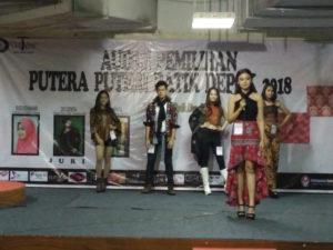 CutNyak Gelar Pemilihan Putera Puteri Batik Depok